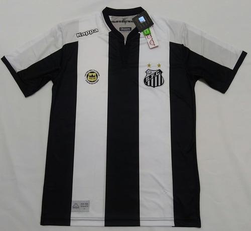 76a03f3155 60% Off! Camisa Santos Kappa Away Oficial Torcedor 2016 2017. R  114.99