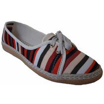 Alpargata Feminina Encantto Shoes Listrada Multi Color