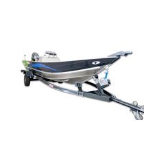 Lancha Fluvimar Aluminio Marlim 5.0 Clx Com Yamaha 40 2 T