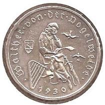 Alemanha-moeda De Prata De 3 Marcos-comemorativa De 1930g