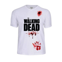 Camisas Camiseta The Walking Dead Filme Serie Seriados Games