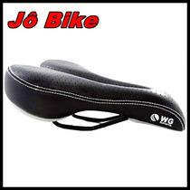 Banco Selim Mtb Wg Sports Vazado Bike Bicicleta
