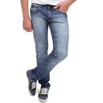 Calça Jeans Masculina Slin Stretch 36 A 46 Caimento Perfeito