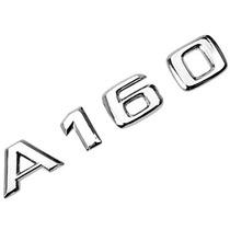Emblema A160 Cromado P/ Mercedes-benz Classe A Dacar Parts
