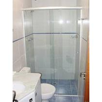 Box Banheiro Vidro Incolor Estrutura Fosca Valor Do M²