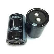 Lote 04 Capacitor Eletrolítico 10000uf X 100v * 105º