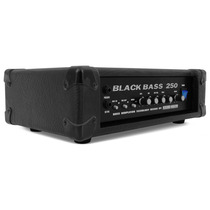 Cabeçote P/ Contra Baixo Black Bass 250 Profissional Sound