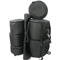 Jogo De Bag Bateria Extra Luxo 7 Peças Reduzido Fusion J.s.