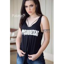 Camisetas Regata Blusas Manguinha T-shirts Roupas Femininas