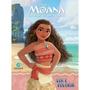 Livro Moana Disney Ler E Colorir Médio Culturama