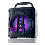 Caixa Som Portátil Bluetooth Sem Fio Mp3 Sd Rádio Fm Pendriv