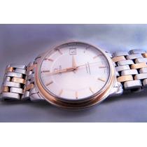 Relógio Ouro E Aço Omega Automático Cronometro