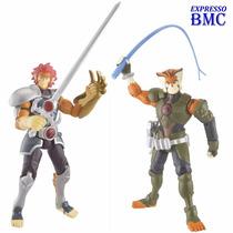 2 Thundercats Lion-o & Tygra Articulados De 10cm Bandai