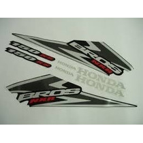 Kit Adesivo Tanque Honda Bros 150 Ks 2006 - Preta