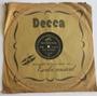 Disco Vinil Antigo 78rpm - Músicas De Natal - Instrumental Original