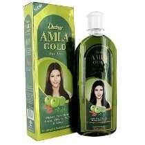 Óleo De Amla Dabur Gold (cabelos Castanhos) - 200 Ml