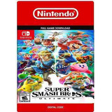 Super Smash Bros Ultimate Nintendo Switch Codigo Eshop