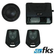Alarme Carro Novo Fks902 Automotivo Plus Universal C/ Sirene