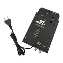 Amplificador Potencia Rf 30db Antena Coletiva 5326 Digital