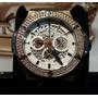 Relógio Top Big Bang Cravejado Pedra Safira Rose Kingbr