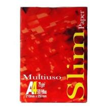 Frete Rapido Sulfite A4 Slim 500fls 75gr -caixa C/ 10 Pac