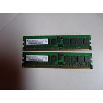 2 Memória 256mb Para Servidor Dell Poweredge 1800 1850 2850