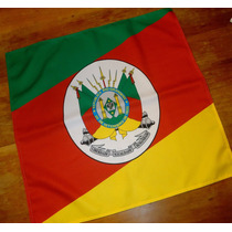 Bandana Lenço Bandeira Do Rio Grande Do Sul Ou Brasil