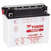 Bateria Yuasa Y50-n18l-a Virago 1100/virago250/535 Vulcan800