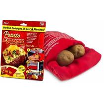 Saco Para Assar Batatas 4min No Microondas Potato Express
