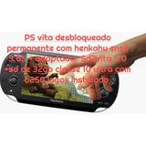 Ps Vita Desbloqueado  +32gb+sd2vita +6386 Jogos E Emuladore