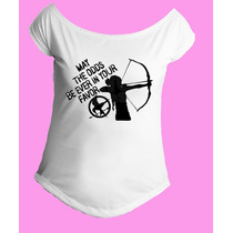 Camiseta Feminina G. Canoa Jogos Vorazes - Hunger Games 04