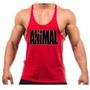 Kit Com 5 Regata Super Cavada Animal Musculação Bodybuilding
