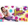 Painel Em Lona Soy Luna 03 - 3:50 X 2:00mt 1 Peça