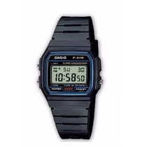 Kit 20 Relogio Casio Digital F91 Unisex Vintage Retrô Atacad