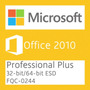 Microsoft Office 2010 Professional Plus Esd - Nota Fiscal