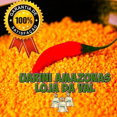 Farinha Uarini 12 Kg Amazonas Torradinha Uma Delicia Ovinha
