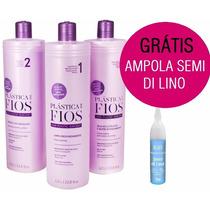 Selagem Termica Plastica Dos Fios Cadiveu 3x1lt + Ampola