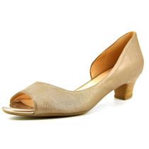 Naturalizer Sandálias De Bronze Debra Mulheres N / S Abrir