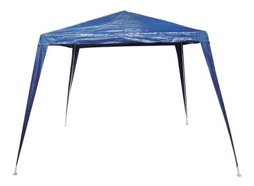 Barraca Tenda Gazebo Praia Camping Base 3m Azul Ou Branco