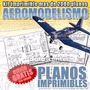 Projetos Desenhos 2000 Planos Aeromodelismo Aeronave