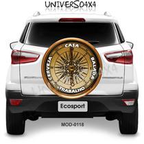 Capa Estepe Ecosport, Crossfox, Spin, Bússola, Mapa, M-0118