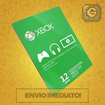 Xbox Live Gold Br Usa Cartão 12 Meses - Preço Imbativel!!!