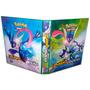 Álbum Fichário Para Cards Pokémon C/10 Transparências 505<br><strong class='ch-price reputation-tooltip-price'>R$ 79<sup>99</sup></strong>
