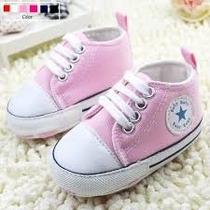 Tenis Bebê Menina Recém Nascido Sapato Presente