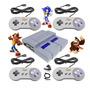 Super Nintendo Classic Retro 4 Controles Ps1 N64 8 Mil Jogo