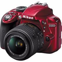 Câmera Fotografica Nikon D3300af-s18-55mmvr Ii,24.2mpfull Hd