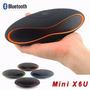 Mini Caixas Som X6u Bluetooth Speaker Usb Fm Rádio Tablet