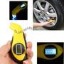 Calibrador Medidor Digital Pressão Pneus Carros Motos Bike