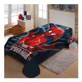 Cobertor Jolitex Ternille Raschel Licenciados Solteiro Homem Aranha