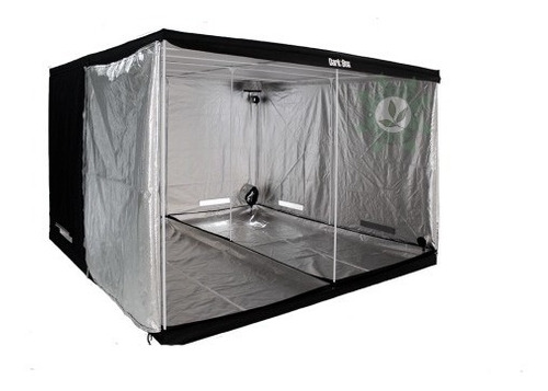 Estufa Dark Box Cultivo Grow Indoor 300x300x200 Led